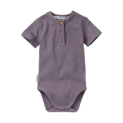 "Mingo - Kurzarmbody ""Rib Bodysuit"", lavender"