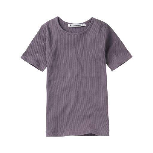 """Mingo - T-Shirt """"Rib Top"""", lavender"""