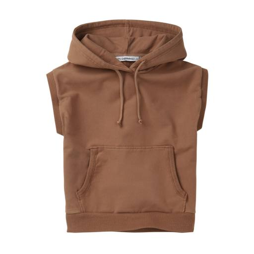 "Mingo -Pullover ""Sleeveless Hoodie"", warm earth"