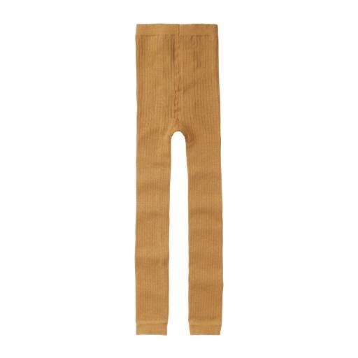 "Mingo - Leggings ""Sockless Tights"", light ochre"