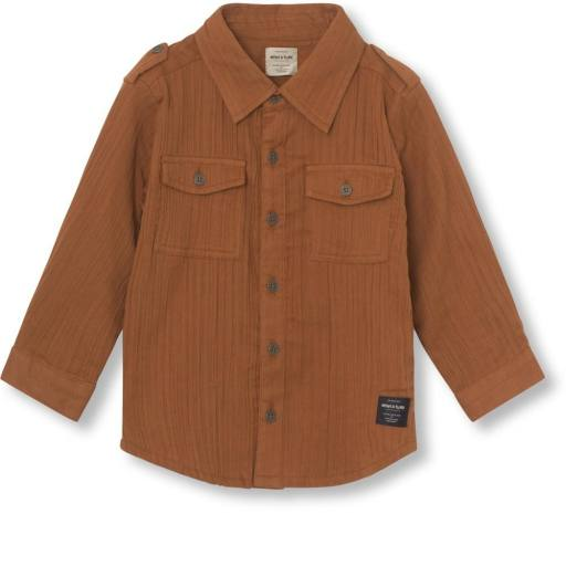 "Mini a Ture - Hemd ""Martin Shirt"", leather brown"