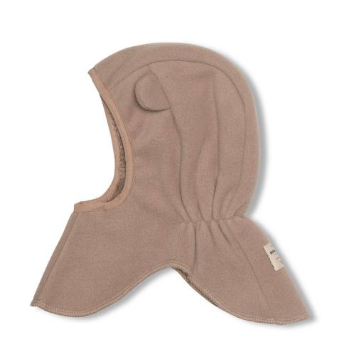 "Mini a Ture -Fleece-Schlupfmütze ""Jeffi Hood"", taupe grey"