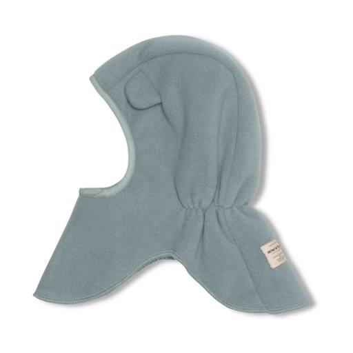 "Mini a Ture -Fleece-Schlupfmütze ""Jeffi Hood"", trooper blue"