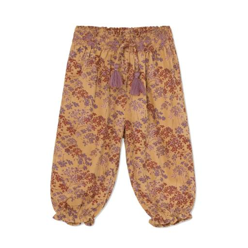 "Mini a Ture -Baby-Pants ""Adejele Printed Brushed Woven Pants"", sweet curry"