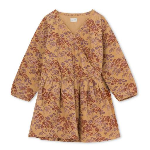 """Mini a Ture -Kleid """"Ankie Printed Brushed Woven Dress"""", sweet curry"""