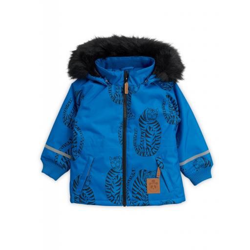 """Mini Rodini -K2 Parka """"Tiger"""", blue"""