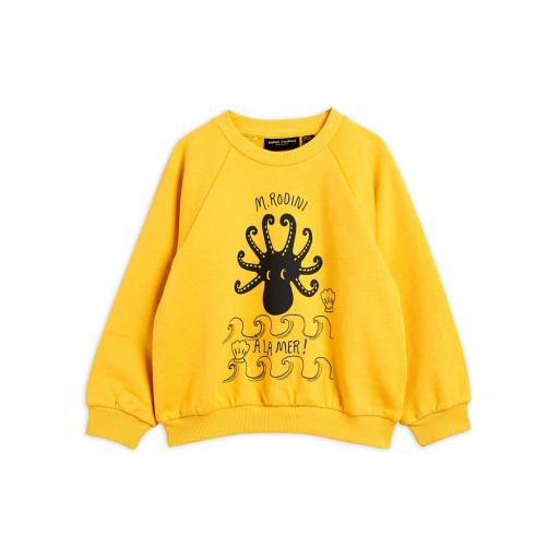 Mini Rodini - Pullover ''Octopus'', yellow