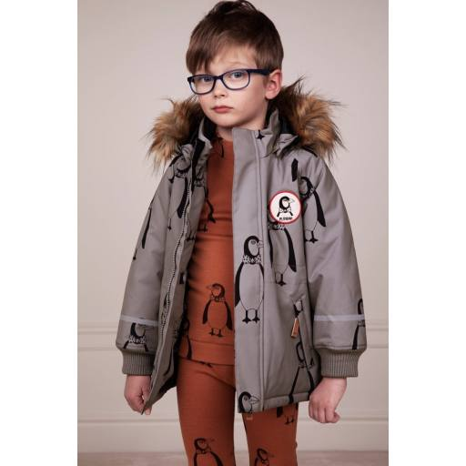 "Mini Rodini - K2 Parka ""Penguin"", grey"