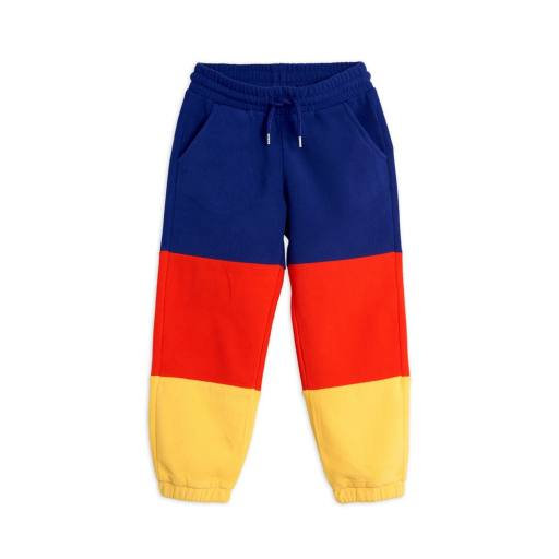 "Mini Rodini - Hose ""Fleece Panel Trousers"", blue"