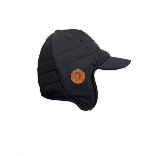 "Mini Rodini -Fliegermütze ""Insulator Cap"", black"