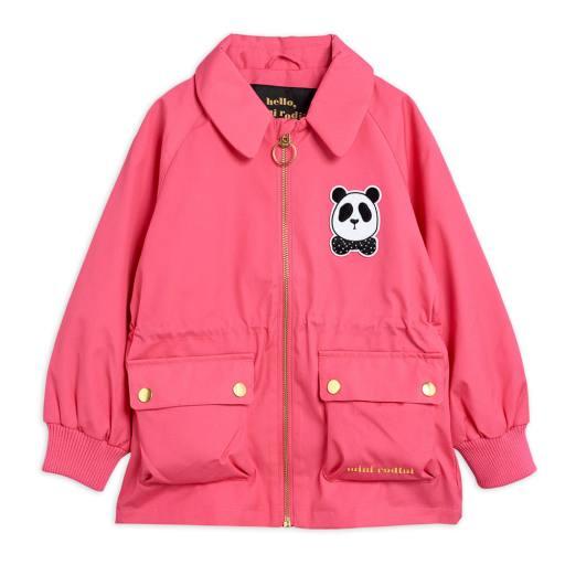 """MiniRodini - Jacke """"Panda Jacket"""", pink"""
