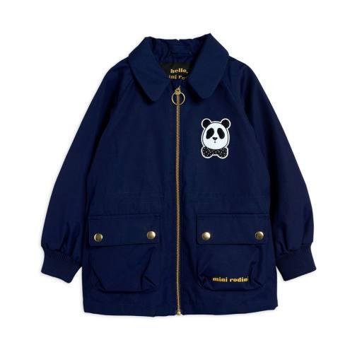 "Mini Rodini - Jacke ""Panda Jacket"", navy"