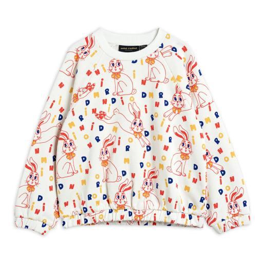 "Mini Rodini -Sweatshirt ''MR rabbit"", offwhite"