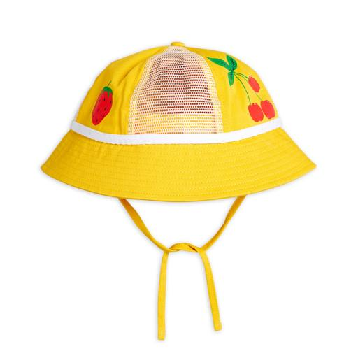 "Mini Rodini - Sonnenhut ""Mesh sun"", yellow"