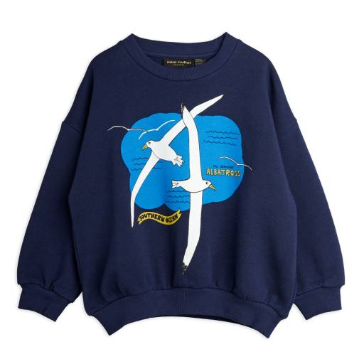 Mini Rodini - Sweatshirt ''Albatross'', navy