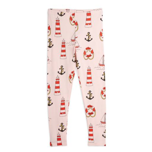 Mini Rodini - Leggings ''Lighthouse'', pink