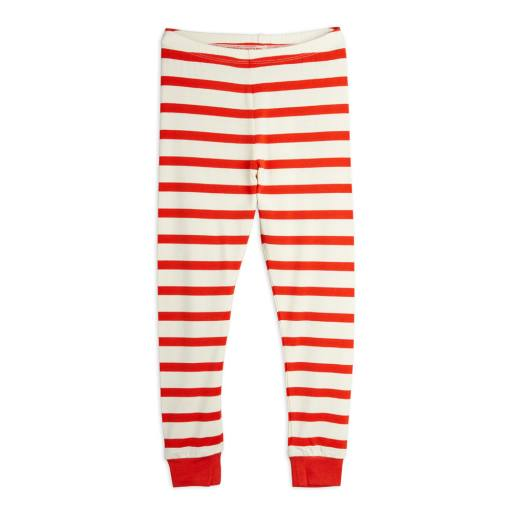 Mini Rodini - Leggings ''Stripe'', red