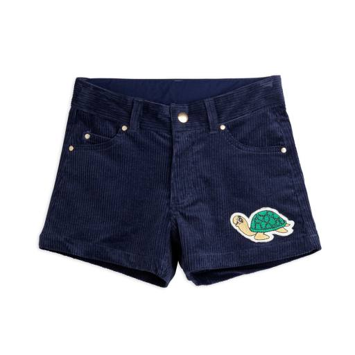 "Mini Rodini - Shorts ""Corduroy"", navy"