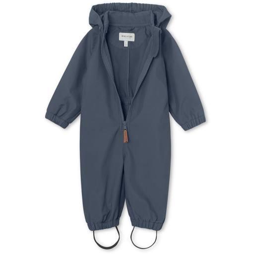 "Mini a Ture - Softshell-Overall ""Arno"", ombre blue"