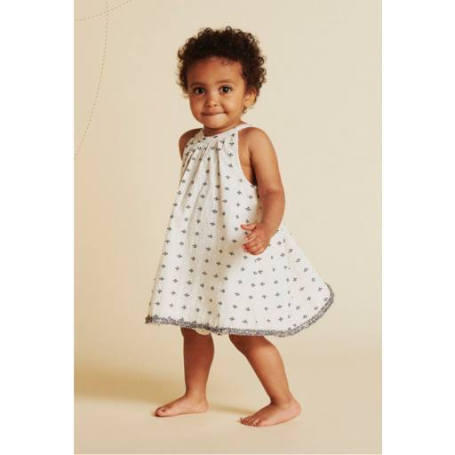 "Mini a Ture -Baby-Kleid ""Sianna Dress"", cloud cream"