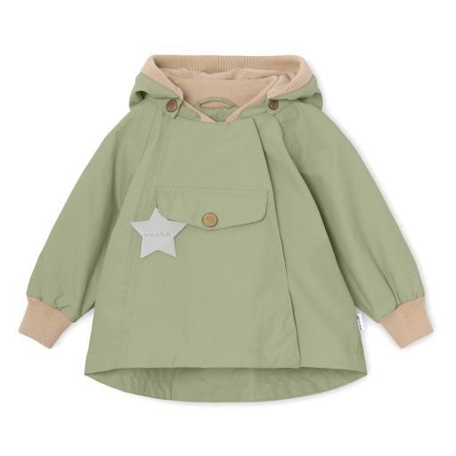 "Mini a Ture - Jacke ""Wai"" fleece, oil green"