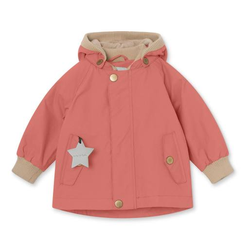 "Mini a Ture - Jacke ""Wally"" fleece, canyon rose"