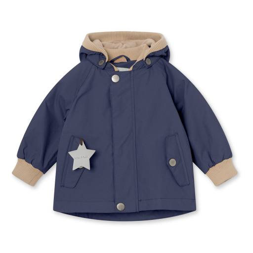 "Mini a Ture - Jacke ""Wally"" fleece, maritime blue"