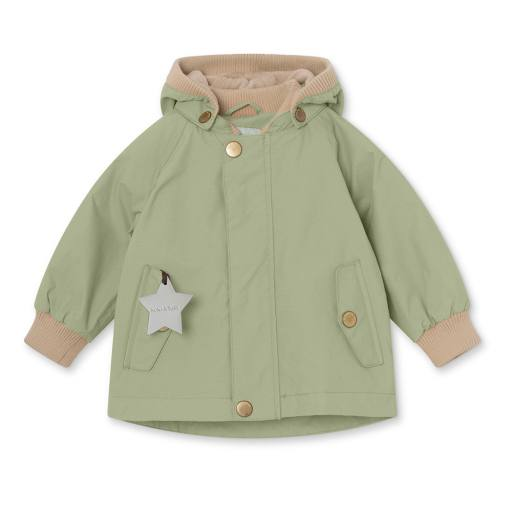 "Mini a Ture - Jacke ""Wally"" fleece, oil green"