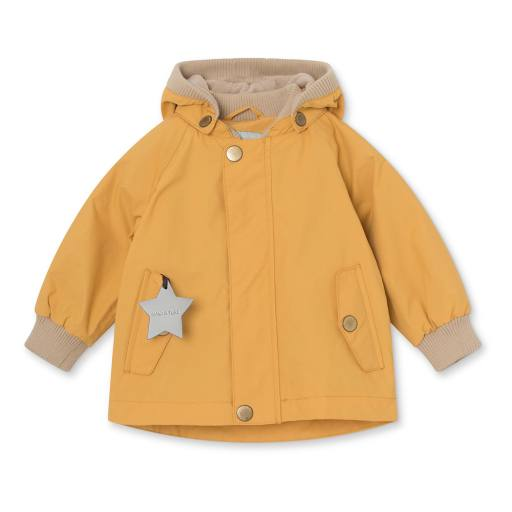 "Mini a Ture - Jacke ""Wally"" fleece, waxed honey"