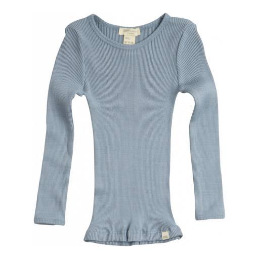 "Minimalisma - Langarmshirt ""Bergen"", clear blue"