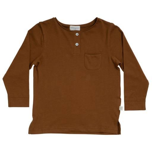 "Minimalisma - Langarmshirt ""Lund'', amber"
