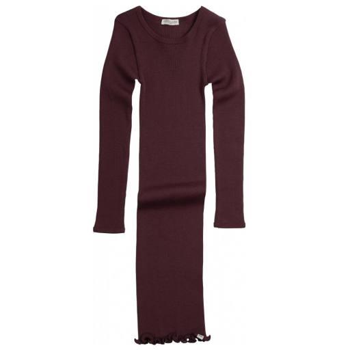 """minimalisma - Woll-Kleid """"Alda"""", raisin"""