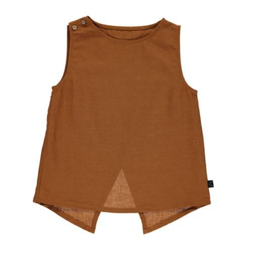 Mondkind - Top ''Honey Cross Back Top'', brown