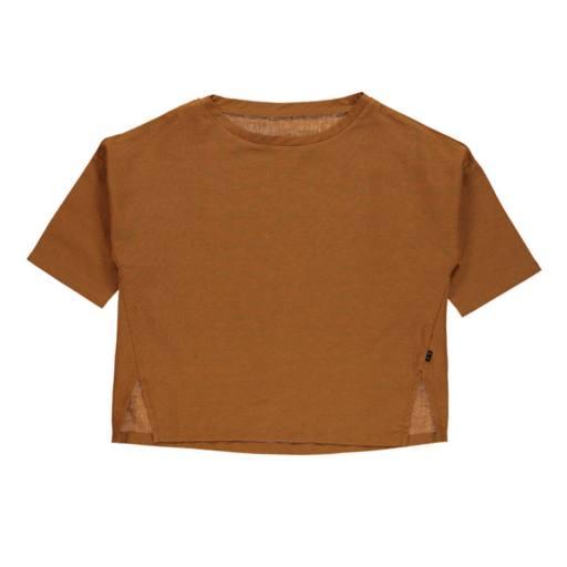 """Mondkind - Blusenshirt """"honey Peasant Blouse Adult"""", brown"""