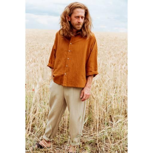 Monkind - Hemd ''Honey Shirt Adult'', brown