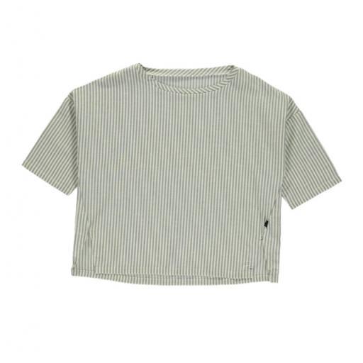 "Mondkind - Blusenshirt ""Lagoon Peasant Blouse Adult"", white/grey"