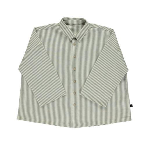 Monkind - Shirt ''Lagoon Shirt'', white/grey