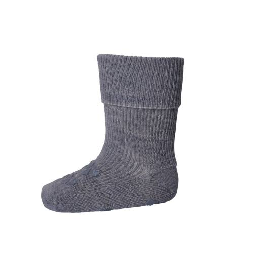 "MP Denmark -Stopper-Socken ""Ankle Dublin Anti-Slip"", grey"