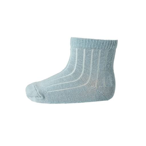 "MP Denmark - Socken ""Ankle Wool Rib"" stormy sea"