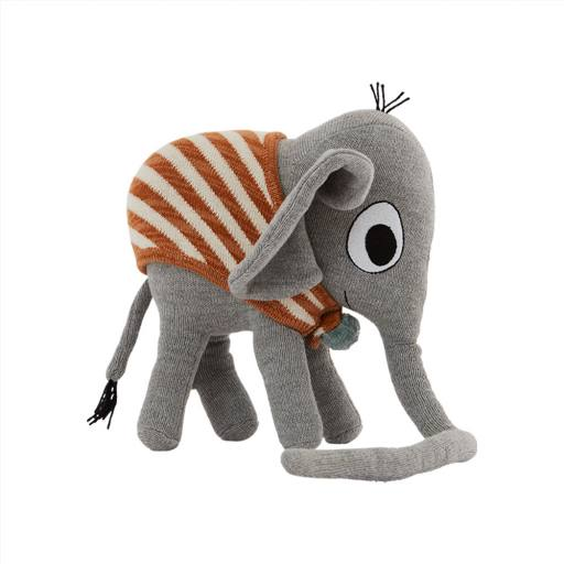 "Oyoy - Kuscheltier ""Elephant Henry"", grey"