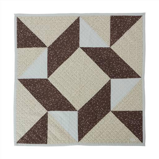 """Oyoy - Decke """"Quilted Aya Blanket"""", multi"""