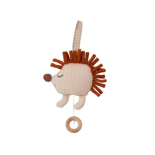 "OyOy - Spieluhr ""Hope Hedgehog Music Mobile"", beige"