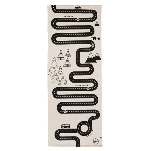 """OYOY - Straßenteppich """"Adventure rug"""""""