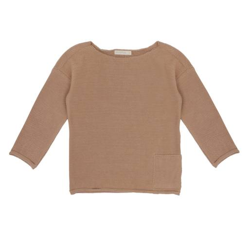 """Phil & Phae - Sweater """"Drop-Shoulder Knit"""", dusty nude"""