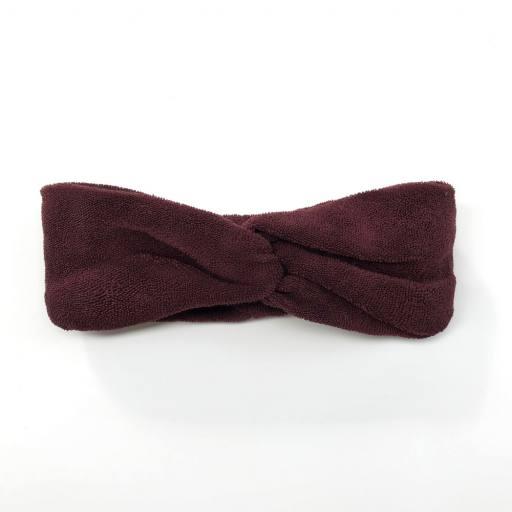 Frottè Headband, aubergine