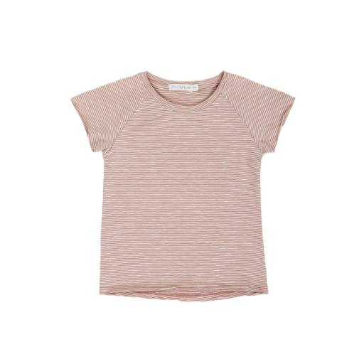 "Phil & Phae -T-Shirt ""Raglan Tee stripes"", sand stripe"