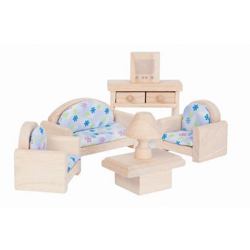 Plan Toys - Puppenmöbel Wohnzimmer