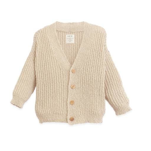 "Play Up - Strickjacke ""Knitted Jacket"", dandelion"