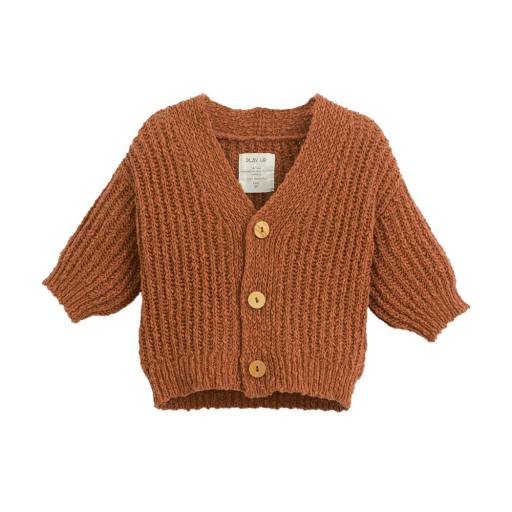 "Play Up - Strickjacke ""Knitted Cardigan"", anise"
