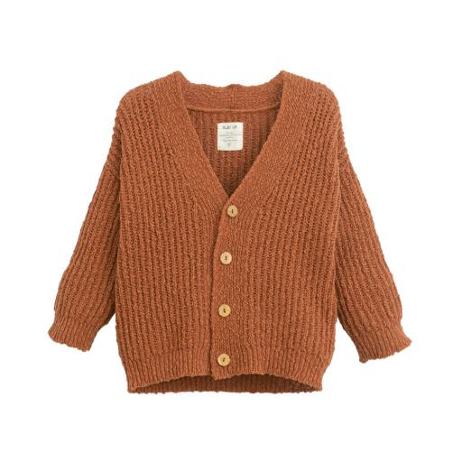 "Play Up - Strickjacke ""Knitted Jacket"", anise"